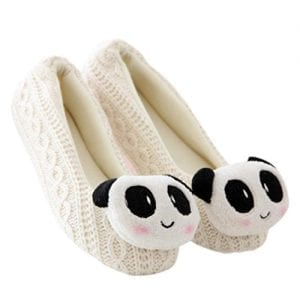 DZT1968-Women-Home-Floor-Soft-Indoor-Slippers-Outsole-Panda-Rabbit-Cashmere-Yoga-Shoes-M-White-0