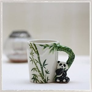 New-Arrival-Lovely-12oz-Panda-Shaped-Handle-Mug-with-Bamboo-Decal-Panda-Ceramic-Cup-0