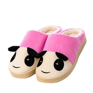Winter-Womens-Cotton-Cute-Panda-Warm-Slippers-Indoor-Home-Slippers-Shoes-S37-39-pink-0