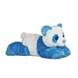 Aurora-8-Mini-Flopsie-Plush-Panda-TEAL-BLUE-0