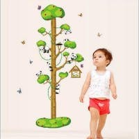 24-X-36-Growth-Chart-Panda-Climbing-Tree-Height-Chart-Wall-Vinly-Decal-Decor-Sticker-Removable-Super-for-Nursery-Playroom-Girls-and-Boys-Childrens-Bedroom-0