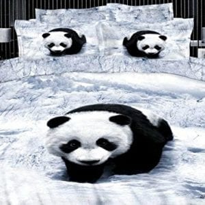 Beddinginn-4-Pieces-3d-Bedding-Sets-Cute-Panda-Print-400-thread-count-Cotton-Material-Duvet-Covet-Set-Twin-0