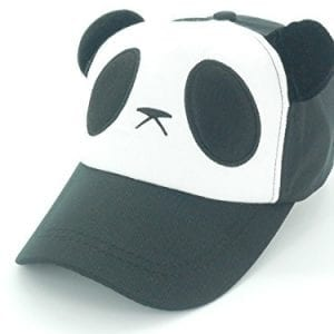 Oidon-Panda-Pattern-Cartoon-Cotton-Baseball-Hats-Caps-Adult-56-61cm-228-240inch-Black-0