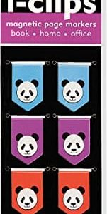 Panda-i-clips-Magnetic-Page-Markers-Set-of-8-Magnetic-Bookmarks-0