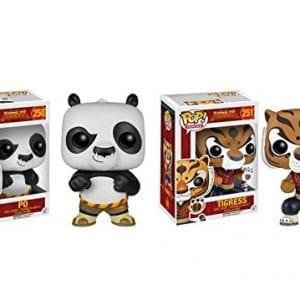 Funko-POP-Kung-Fu-Panda-Po-and-Tigress-2-Piece-BUNDLE-0