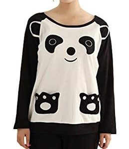 KM-Couple-Pure-Cotton-Pyjamas-Long-Sleeve-Nightwear-Set-7-Panda-Female-XL-0