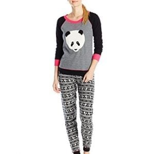 Kensie-Womens-Thermal-Pajama-Set-Smoked-Pearl-Panda-Small-0