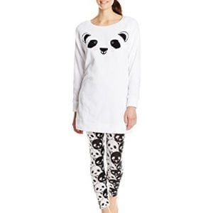 MJC-Womens-Panda-Dorm-Shirt-and-Legging-Pajama-Set-White-Small-0