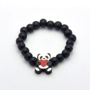 Panda-Bear-Wooden-Pendant-With-Wood-Bead-Bracelet-SwaggWood-Made-in-USA-0