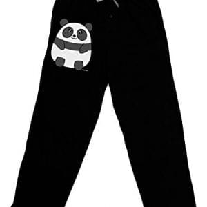 TooLoud-Cute-Panda-Bear-Adult-Lounge-Pants-Black-Medium-0