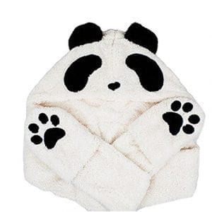 Bestal-Womens-Panda-Fleece-Hooded-Scarf-Gloves-Pocket-Earflap-Hat-Snood-Wraps-0-0