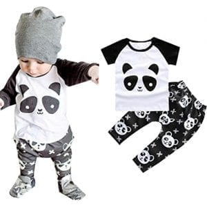 DaySeventh-2016-1Set-Baby-Toddler-Clothes-Boy-Panda-Shirt-Pants-Kids-Sets-Outfit-9M-White-0