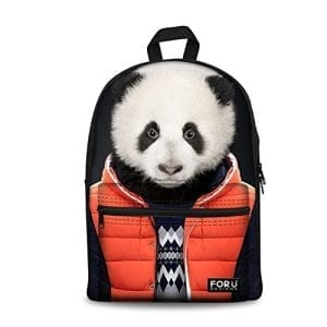 HUGSIDEA-Cute-Panda-Printed-School-Travel-Backpack-for-Boys-0