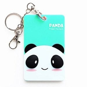JKing-Creative-Cute-Card-Sets-Lovely-Card-Case-Card-Cover-with-Key-Ring-Key-ChainPanda-0