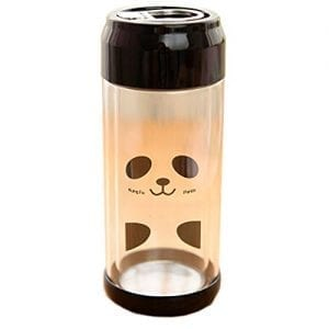 Lovely-Panda-Portable-Clear-Glass-Water-Bottle-Double-Glazing-Bottle-230ML-0