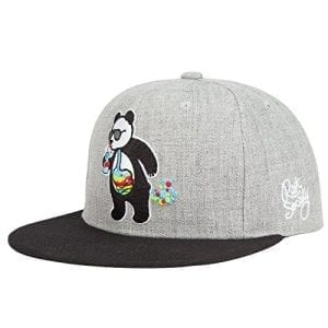 RIOT-SOCIETY-Panda-Bubble-Boys-Snapback-Hat-Gray-0