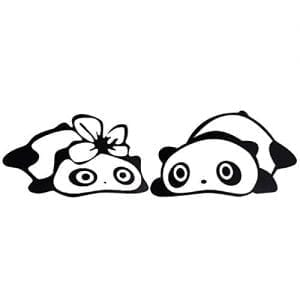 Tonsee-2015-Newest-Fashion-Panda-Design-3D-Decoration-Sticker-For-Car-Side-Mirror-Rearview-Black-0