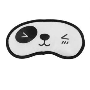 uxcell-Black-White-Cartoon-Panda-Print-Travel-Sleeping-Eye-Shade-Cover-0