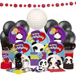 Deluxe-Panda-Birthday-Party-Supplies-Kit-for-8-0