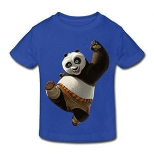 Kids-Toddler-Kung-Fu-Panda-Little-Boys-Girls-T-Shirt-RoyalBlue-Size-3-Toddler-0