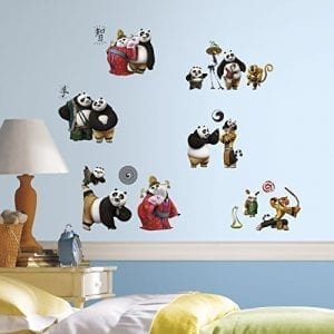 RoomMates-RMK3144SCS-Kung-Fu-Panda-3-Peel-and-Stick-Wall-Decals-0
