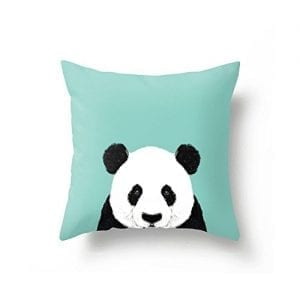 JeremyArtStore-18-x-18-Inches-Decorative-Cotton-Linen-Square-Throw-Pillow-Case-Cushion-Cover-Bright-Colorful-Panda-Art-Design-0