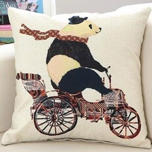 Lovely-Cartoon-Animal-Cute-Panda-Riding-A-Bicycle-Cotton-Linen-Decorative-Throw-Pillow-Case-Personalized-Cushion-Cover-Square-18-X18-0