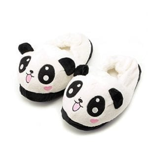 Kocome-Cute-Funny-Panda-Eyes-Women-Slippers-Lovely-Cartoon-Indoor-Home-Soft-Shoes-0