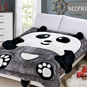 MZPRIDE-Super-Soft-Flannel-Panda-Comforter-Bedding-Set-Cute-Cartoon-Kids-Quilt-5977-0