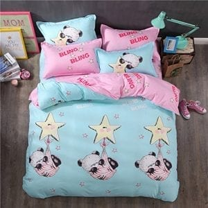 Baby-Panda-Bedding-Sets-Sport-Do-100-Polyester-Brushed-Ultra-Comfortable-Home-Textiles-Twin-3PC-0