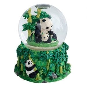 Mommy-Panda-and-Baby-Cub-100MM-Water-Globe-Plays-Tune-Born-Free-0