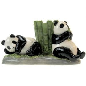 Westland-Giftware-Mwah-Pandas-Magnetic-Ceramic-Salt-and-Pepper-Shaker-with-Toothpick-Holder-Set-275-Inch-0