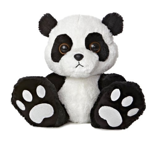 Aurora World Taddle Toes Domino Panda Bear Plush 10 Tall Panda