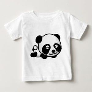 Laying Down Panda Onesie