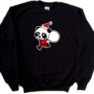 Santa-Panda-Christmas-Funny-Black-Sweatshirt-As-Shown-print-XXX-Large-0