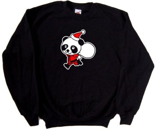 Santa-Panda-Christmas-Funny-Black-Sweatshirt-As-Shown-print-XXX-Large-0