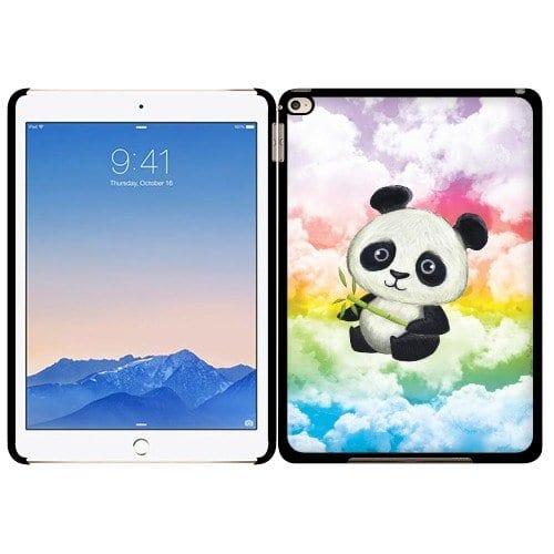 Fincibo-TM-Apple-iPad-Air-2-Back-Cover-Slim-Fit-Hard-Plastic-Protector-Case-Baby-Panda-Style-2-0