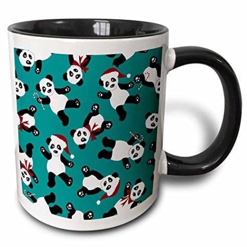 Janna-Salak-Designs-Holiday-Cheer-Collection-Cute-Christmas-Panda-Print-Blue-11oz-Two-Tone-Black-Mug-mug397374-0