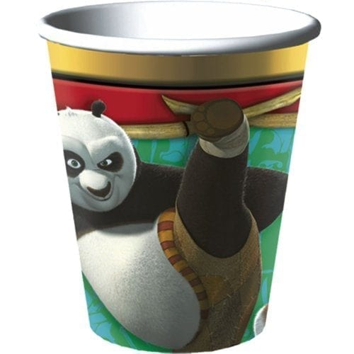 Kung-Fu-Panda-9-oz-Paper-Cups-8-count-0