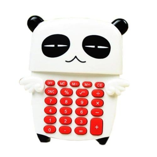 Lovely-Cool-PandaAngel-Wings-Portable-Mini-Solar-Pocket-Calculator-8-Digitals-0