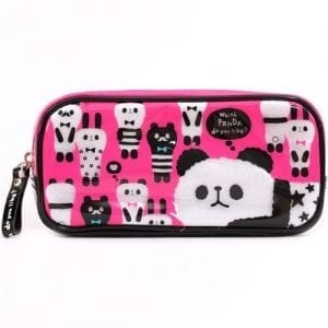 cute-pink-panda-alpaca-plastic-pencil-case-from-Japan-0