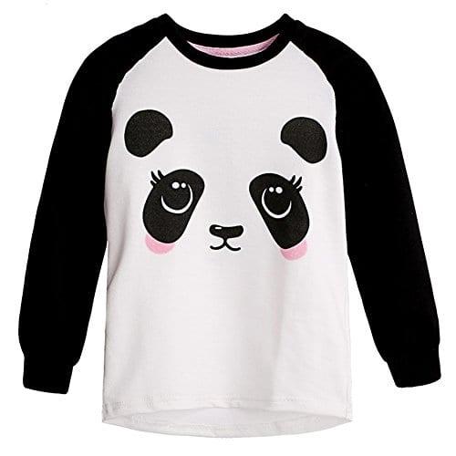 StefanieW-Girls-Cute-Panda-Hoodies-Pink-Cat-Hoodies-Sweater-0