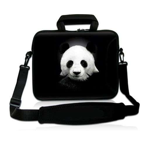 BK-Panda-15-154-156-inch-Notebook-Laptop-Shoulder-Case-Sleeve-Carrying-bag-for-Apple-MacBook-Pro-15-154-Dell-Inspiron-15R-Vostro-XPS-Alienware-M15X-ASUS-A55-K55-N56-X54-Sony-E15-S15-EL2Lenovo-ThinkPad-0