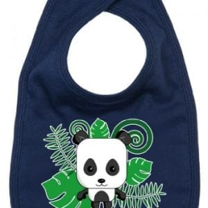 Dirty-Fingers-Panda-to-my-every-need-Baby-Cute-Feeding-Bib-Navy-0