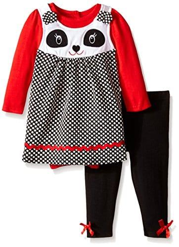 Nannette-Baby-Girls-Newborn-Panda-Jumper-Set-with-Creeper-and-Matching-Legging-Black-6-9-Months-0