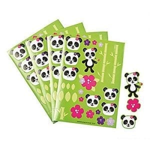 Panda-Party-Sticker-Sheets-12-Sticker-Sheets-27-Stickers-Per-Sheet-324-Total-Stickers-New-0