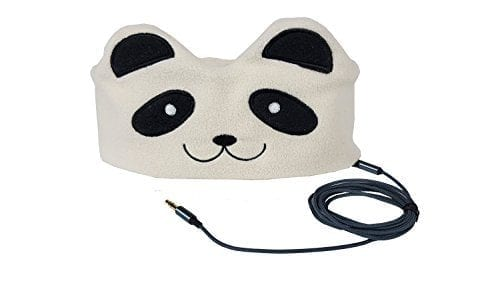 2bfb8fc88d1 CozyPhones Headband Headphones – Super Comfortable and Soft Fleece Headbands.  Perfect for Travel and Home – PANDA