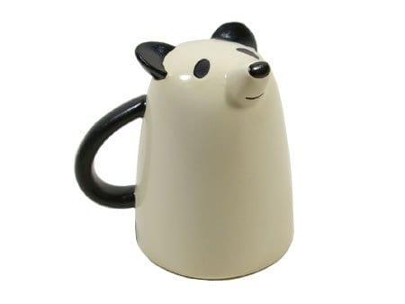 Decole animal face mug panda panda things for Animal face mugs