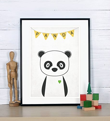 Nursery Decor Panda