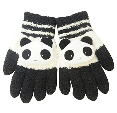 ad2b97c7aae Women Winter Warm Knit Gloves Capacitive Touch Screen Wrist Gloves ...